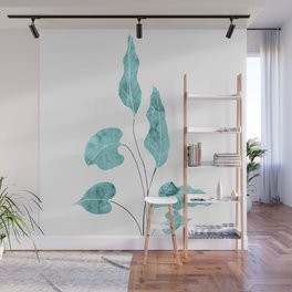 Tropical Leaves Finesse #1 #wall #decor #art #society6 Wall Mural