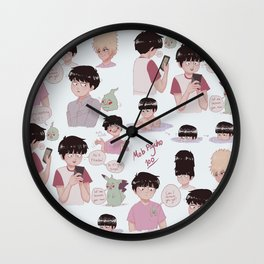 Choice Selection of Mobs Wall Clock