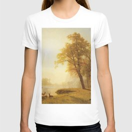 Kings River Canyon California 1874 By Albert Bierstadt | Reproduction Painting T-shirt