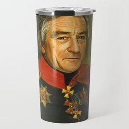Robert De Niro - replaceface Travel Mug