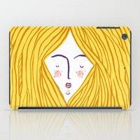 blondie iPad Cases featuring Blondie by Katie L Allen