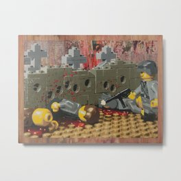 Russian Partisan Execution Metal Print