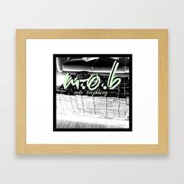 mob Framed Art Print