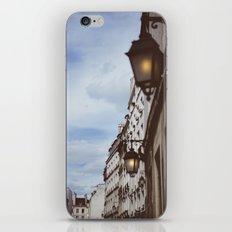 Lanterns & Streets of Paris iPhone Skin