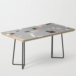 Square abstract Coffee Table