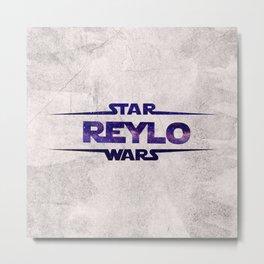 Reylo #3 Metal Print