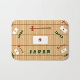 I Love Japan Bath Mat
