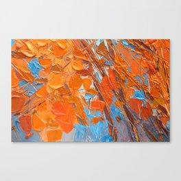 Sugar Maple Zoom Canvas Print