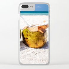 Coconut Rum Clear iPhone Case