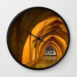 Alcazar, España Wall Clock