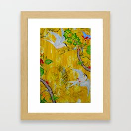 Lucky Terns Framed Art Print