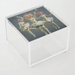 Pumpkin Bunheads Acrylic Box