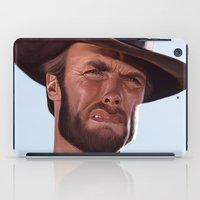 clint barton iPad Cases featuring Clint by Mark Hammermeister