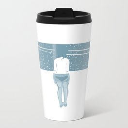 Winter Metal Travel Mug