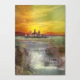 Temple Station Canvas Print