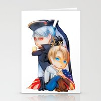 revolution Stationery Cards featuring Revolution by Mieu