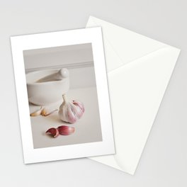 Garlic. Stationery Cards