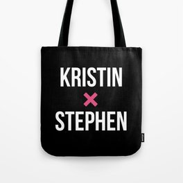 KRISTIN + STEPHEN Tote Bag