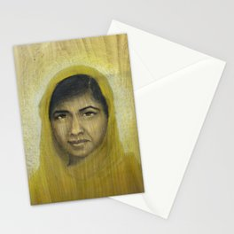 I am Inspired by Malala Stationery Cards