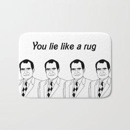 You lie like a rug Bath Mat