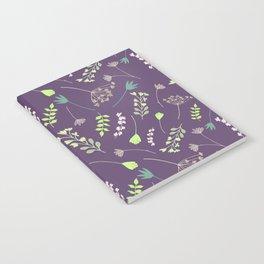 Wispy Cottage Garden Notebook
