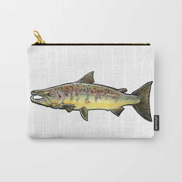 The atlantic salmon. Carry-All Pouch