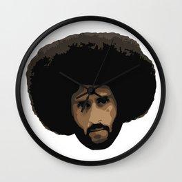 Colin Kaepernick Afro Wall Clock