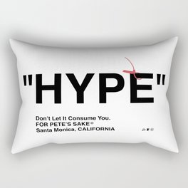 """HYPE"" Rectangular Pillow"