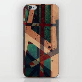 abstract connections  iPhone Skin