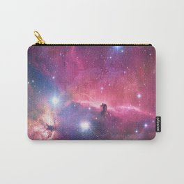 Pink Nebula Carry-All Pouch