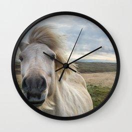 Icelandic Horse. Wall Clock