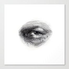 Eye Study Sketch 4 Canvas Print