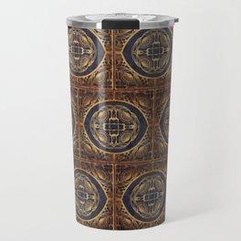 Grecian Bath House Tiles  Travel Mug