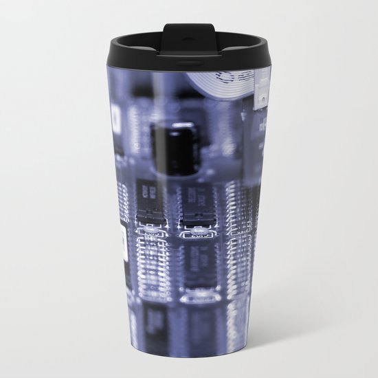 Motherboard Metal Travel Mug