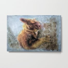 Tree Kangaroo Metal Print