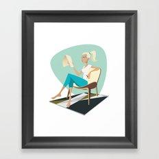 Pesky Little Sketches Framed Art Print