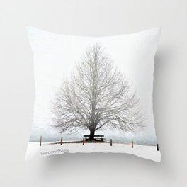 Linden Tree Throw Pillow