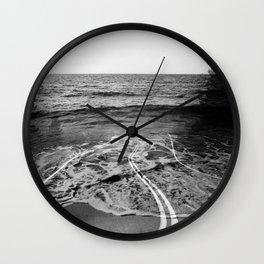 Coastal Highway Wall Clock