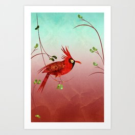 One Bird Art Print