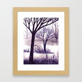 One Misty Morning... Framed Art Print