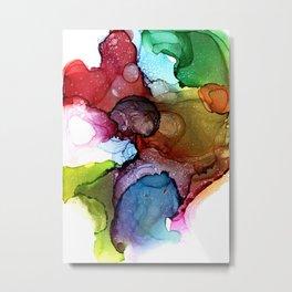 Rainbow Marshmallow Metal Print