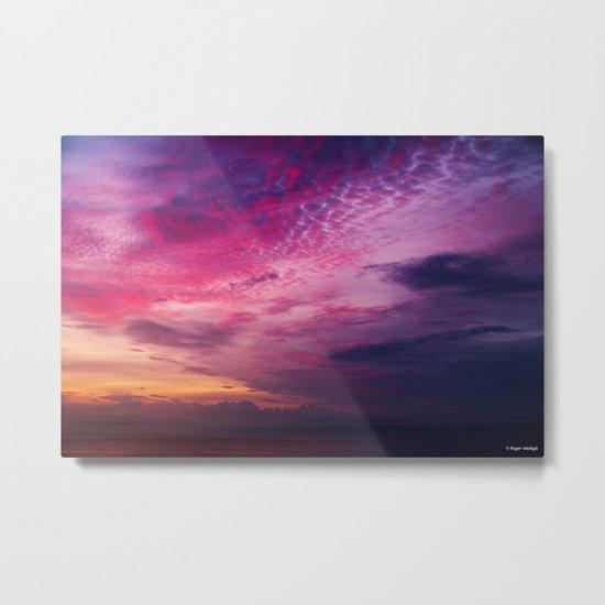 Red Sky Sunrise Metal Print