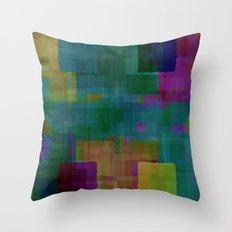 Digital#5 Throw Pillow