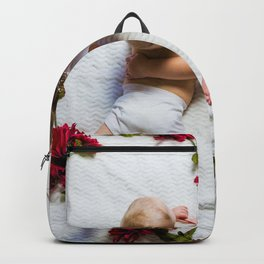 Love Roses Babies (Color) Backpack