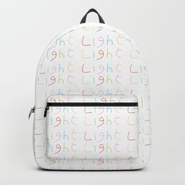 Light 1-Light-day,sun,positive,good,sol,dia,glow,brillar,sunlight,gleam Backpack