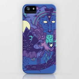 The Leader of the Pack iPhone Case