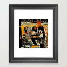 Freud III. Framed Art Print