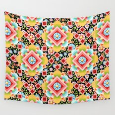 Geometric Chintz Mandala Wall Tapestry