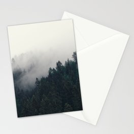 Among trees Stationery Cards