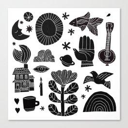Favorite Things Canvas Print